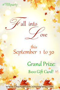Fall into Love Party Poster