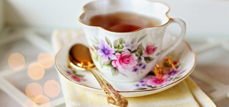 Tea with author Betty Bolte